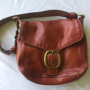 Brown Leather Coach Purse Preowned Handbag